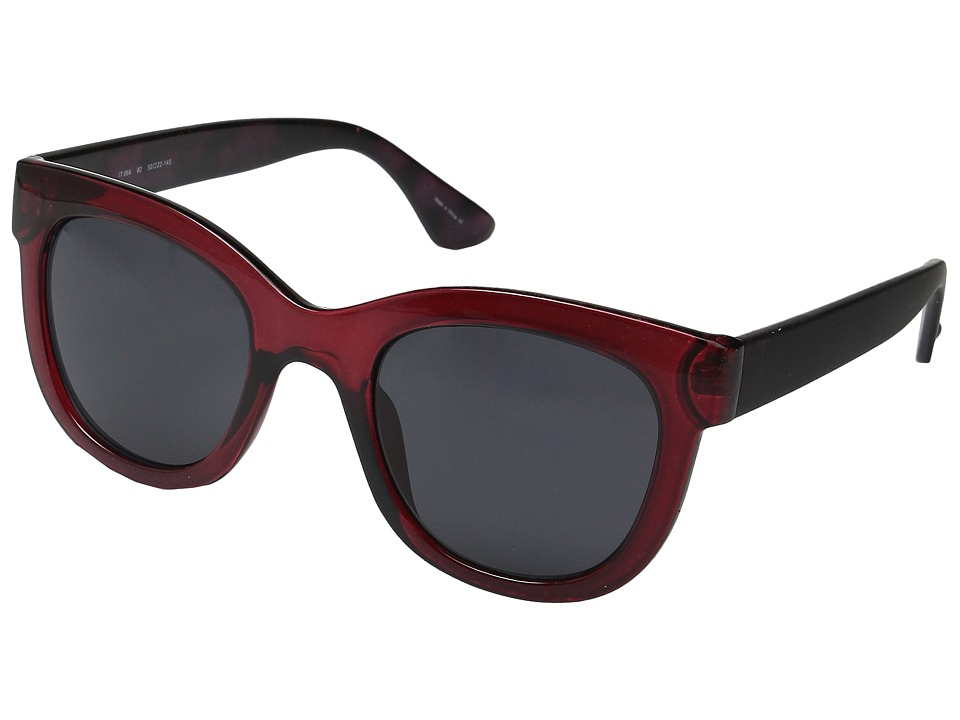 Ivanka Trump - 096-77 (Burgundy) Fashion Sunglasses