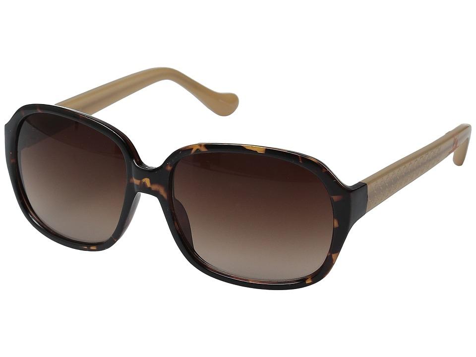 Ivanka Trump - 057-21 (Dark Tortoise) Fashion Sunglasses