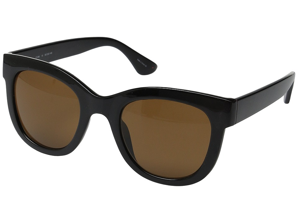 Ivanka Trump - 096-10 (Black) Fashion Sunglasses