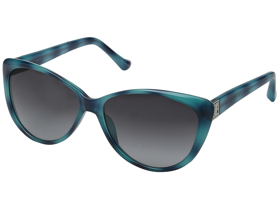 Ivanka Trump - 069-90 (Aqua Havana) Fashion Sunglasses