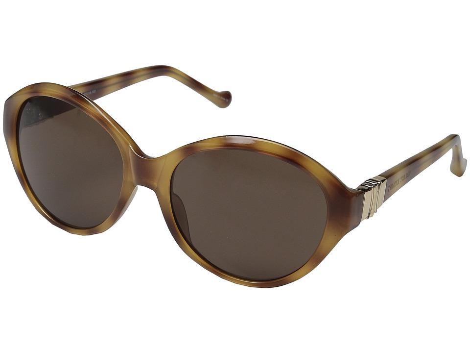 Ivanka Trump - 060-25 (Honey Tortoise) Fashion Sunglasses
