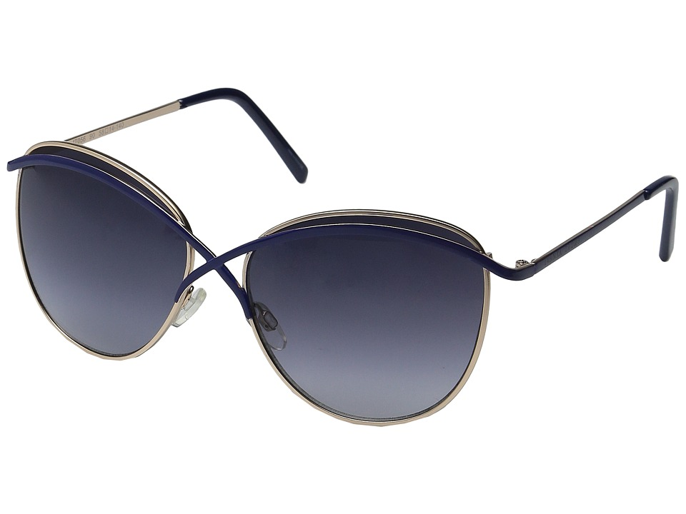 Ivanka Trump - 056-90 (Gold/Navy) Fashion Sunglasses