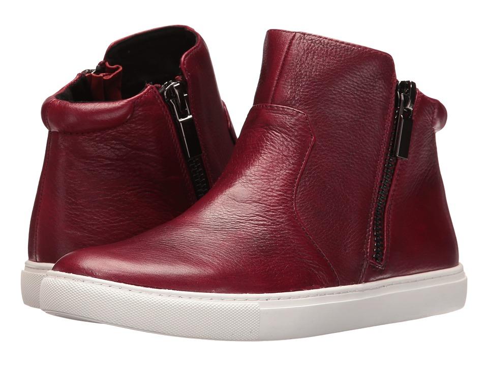 Kenneth Cole New York - Kiera (Maroon) Women's Zip Boots