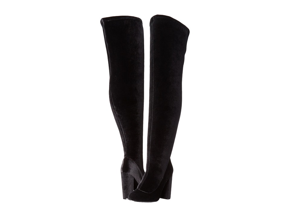 LFL by Lust For Life - Maven (Black Velvet) Women's Pull-on Boots