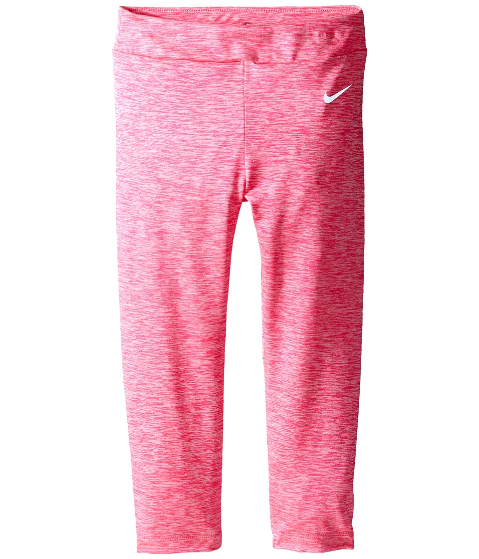 Nike Kids - Dri-FIT Sport Heather Tight (Toddler) (Hyper Pink Heather) Girl's Casual Pants