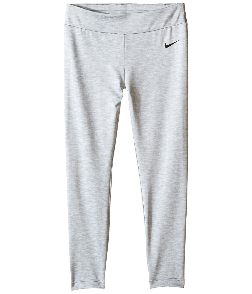Nike Kids - Dri-FIT Sport Heather Tight (Little Kids) (Wolf Grey) Girl's Casual Pants