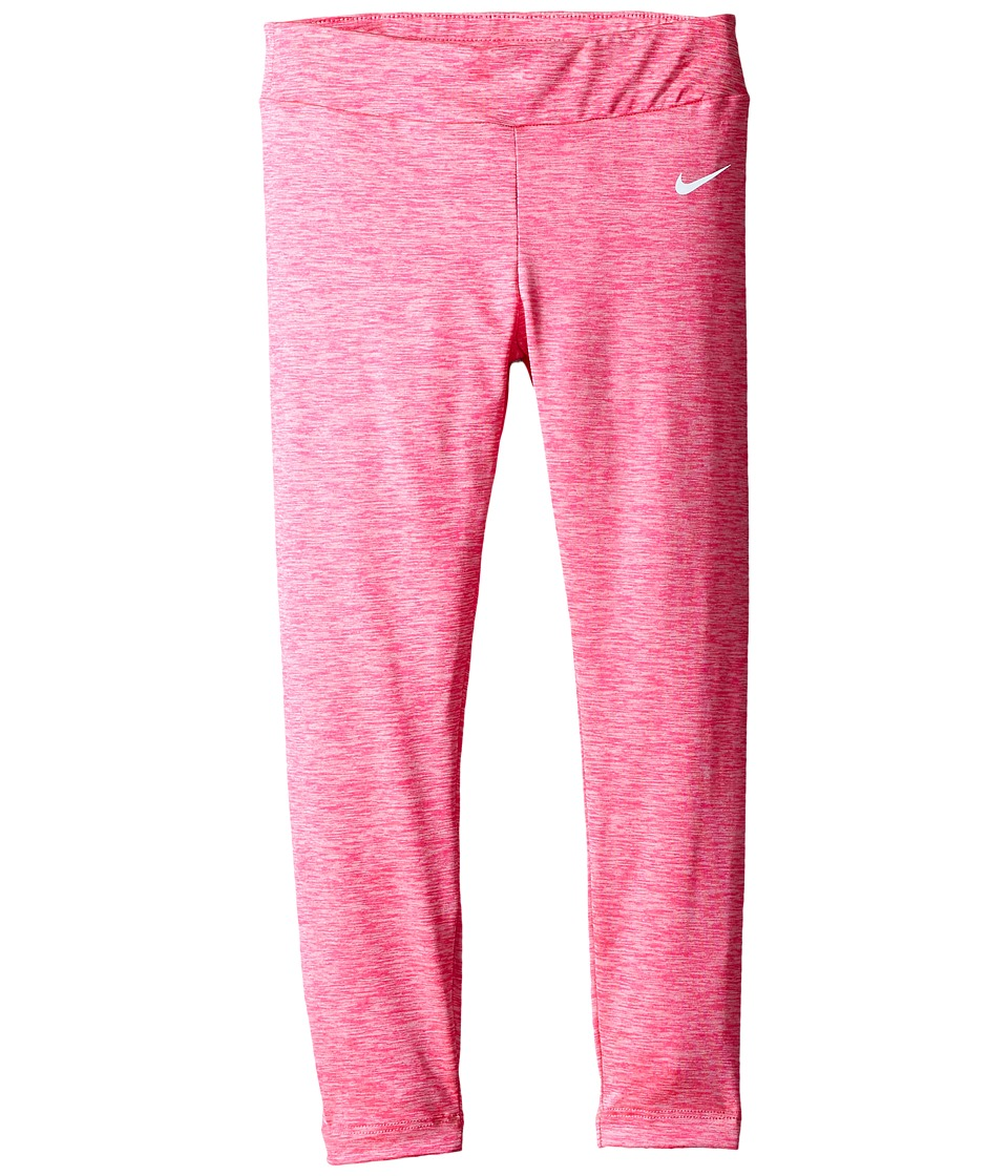 Nike Kids - Dri-FIT Sport Heather Tight (Little Kids) (Hyper Pink Heather) Girl's Casual Pants