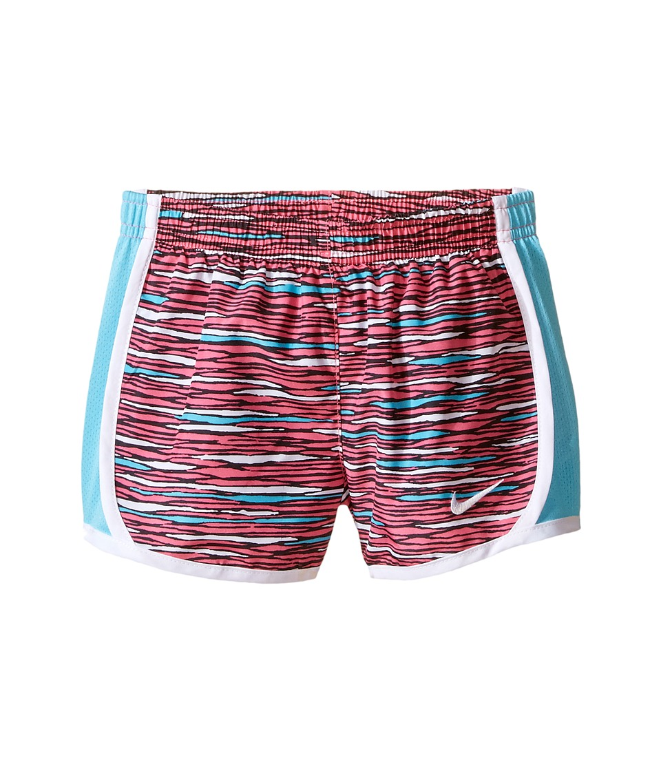 Nike Kids - Tempo AOP Shorts (Toddler) (Hyper Pink) Girl's Shorts