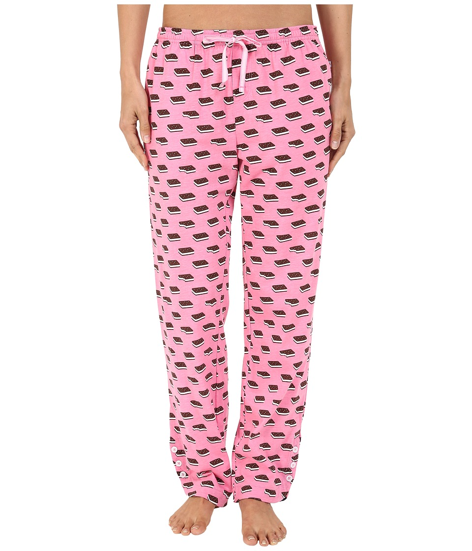Jane & Bleecker - Side Button Pants 3581155 (Ice Cream Sandwiches) Women's Pajama