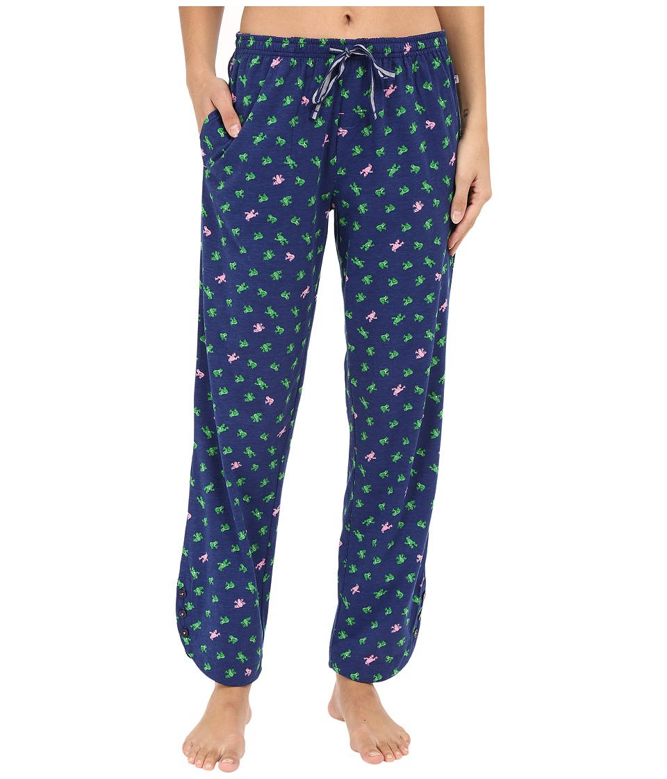 Jane & Bleecker - Side Button Pants 3581155 (Frogs) Women's Pajama