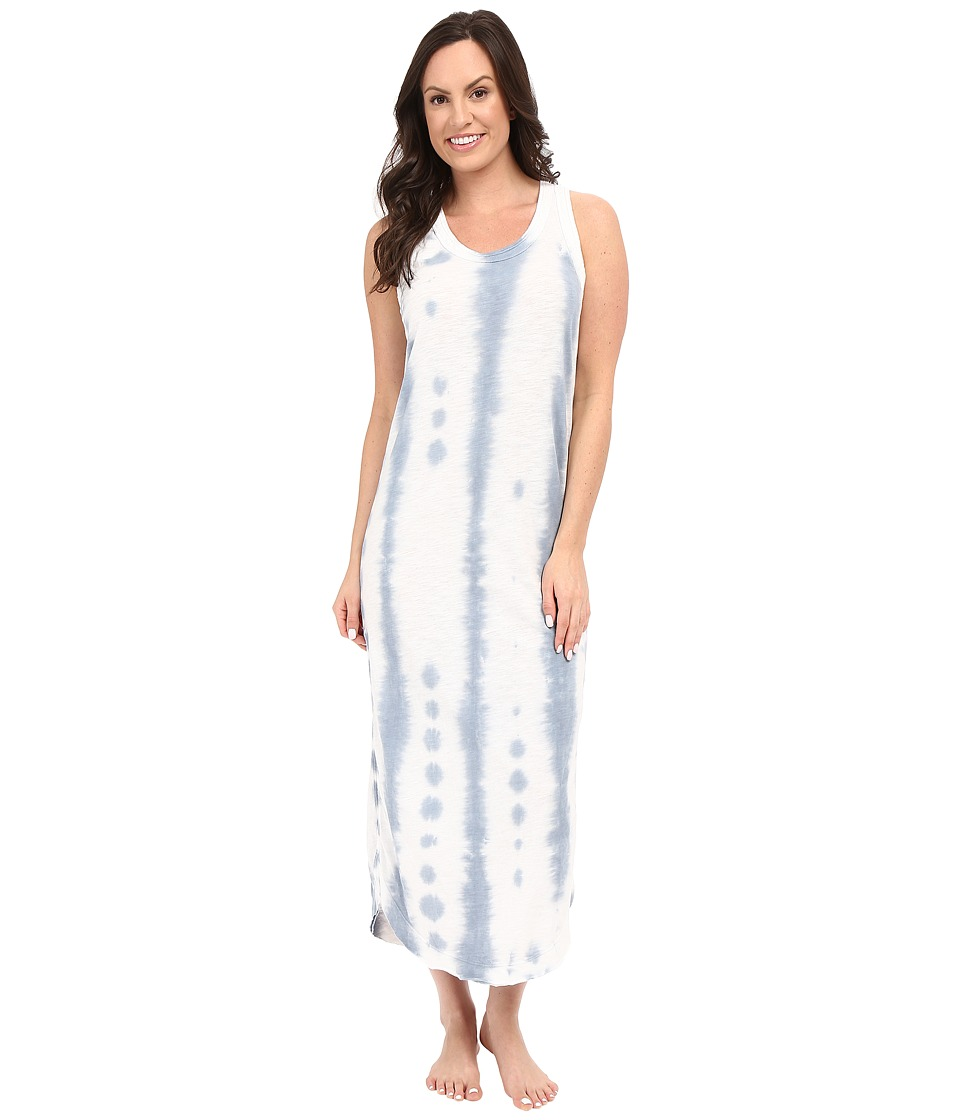 Jane & Bleecker - Slub Maxi Gown 3551158 (Blue) Women's Pajama