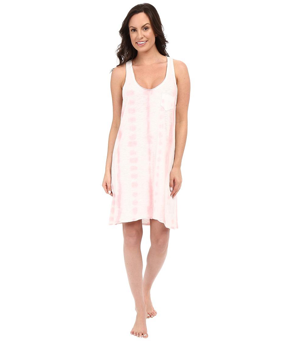 Jane & Bleecker - Tie-Dye Slub Chemise 3521158 (Pink) Women's Pajama