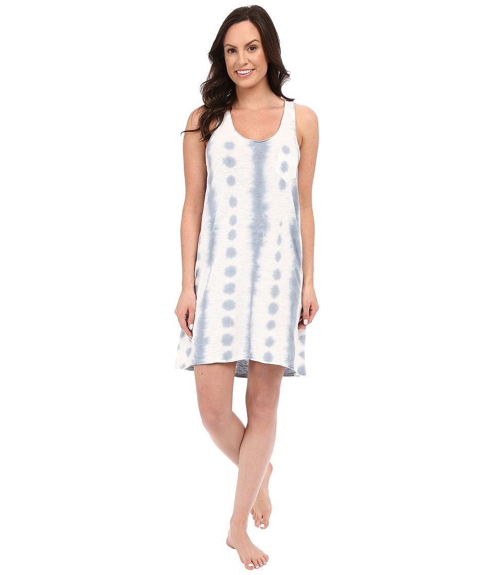 Jane & Bleecker - Tie-Dye Slub Chemise 3521158 (Blue) Women's Pajama