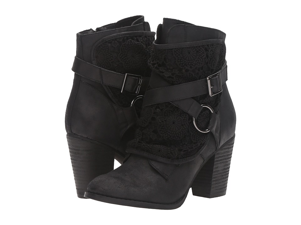 Not Rated - Crunch Time (Black) Women's Boots
