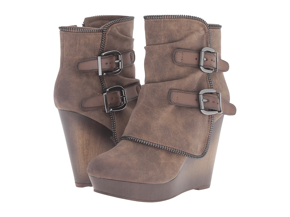 Not Rated - Gemini (Taupe) Women's Boots