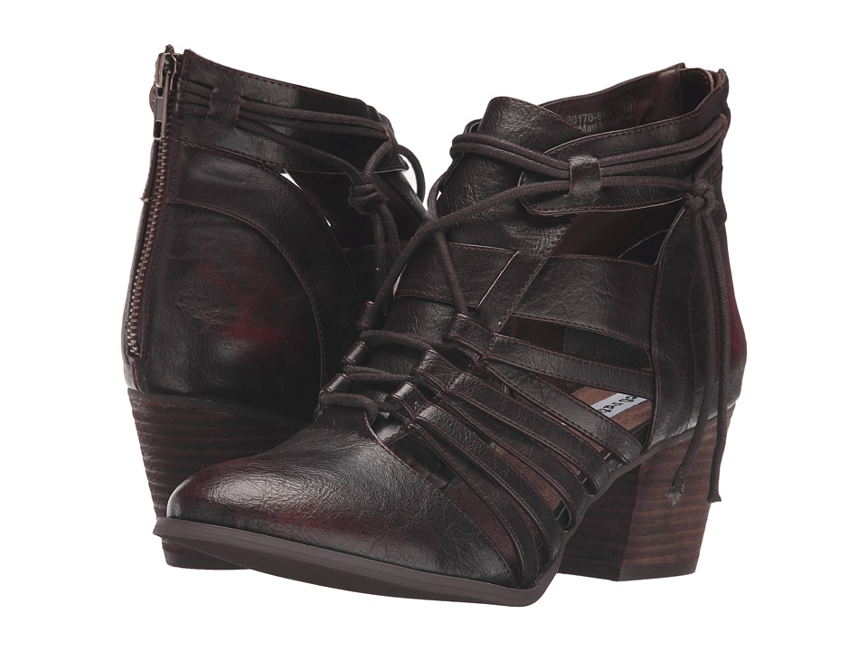 Not Rated - Rusted Roots (Wine) Women's Boots