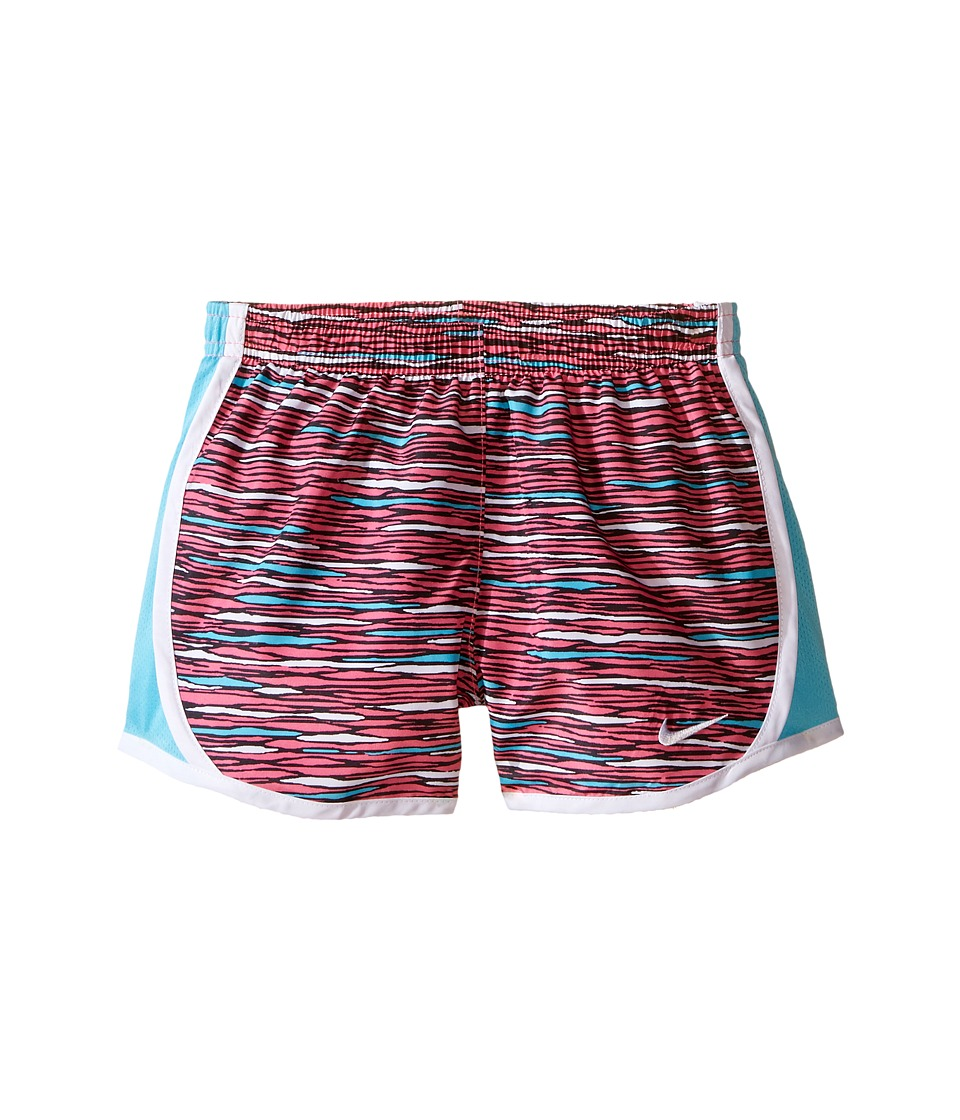 Nike Kids - Tempo AOP Shorts (Little Kids) (Hyper Pink) Girl's Shorts