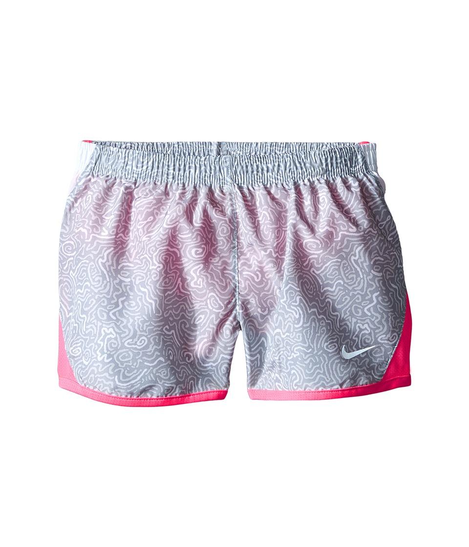 Nike Kids - 10K AOP Running Shorts (Little Kids) (Wolf Grey) Girl's Shorts