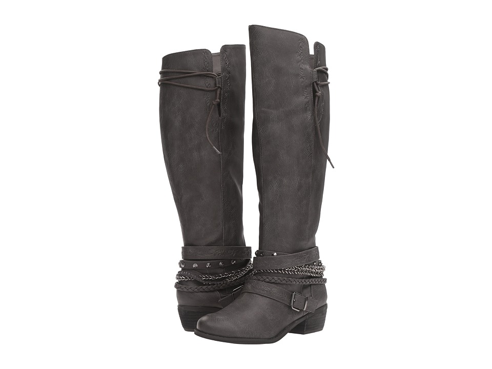 Not Rated - Odessa (Grey) Women's Boots