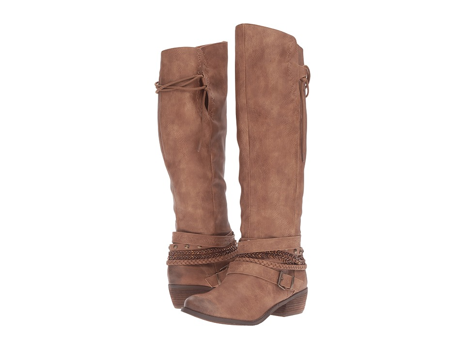 Not Rated - Odessa (Tan) Women's Boots