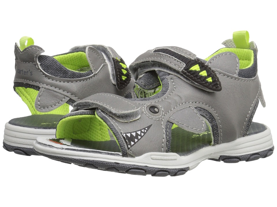Carters - Sharkon (Toddler/Little Kid) (Grey) Boys Shoes