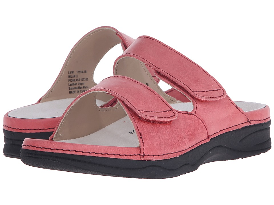 Drew - Milan II (Salmon) Women's Sandals