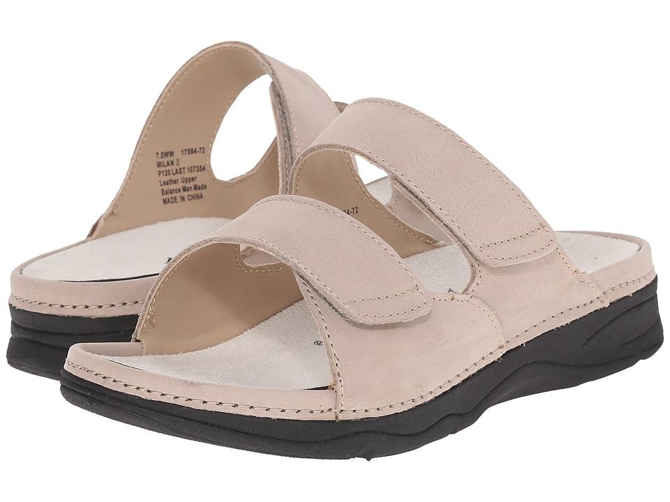 Drew - Milan II (Taupe) Women's Sandals