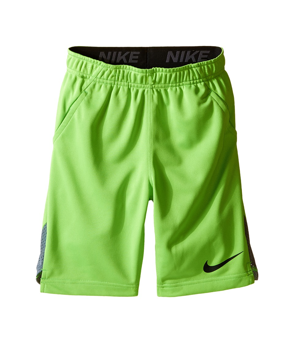 Nike Kids - Hyperspeed Knit Shorts (Little Kids) (Action Green) Boy's Shorts