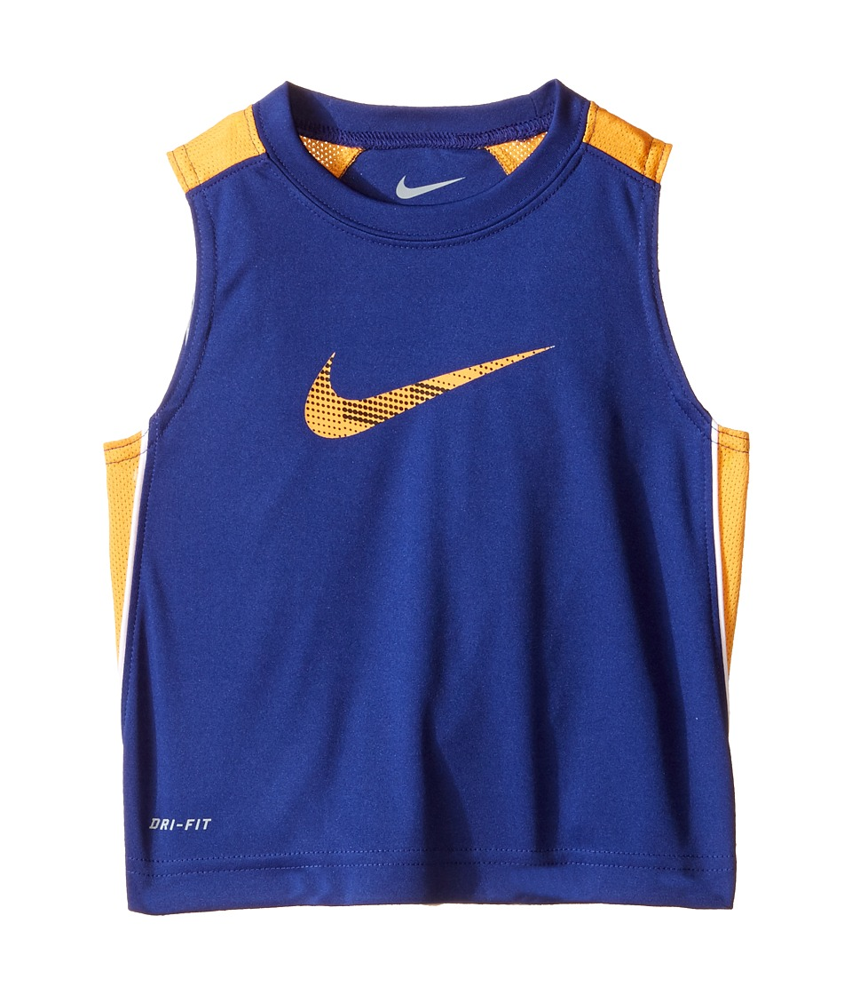 Nike Kids - Legacy GFX Sleeveless Top (Toddler) (Deep Royal Blue) Boy's Sleeveless