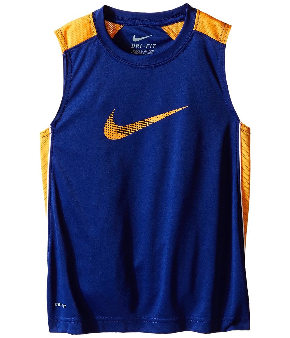 Nike Kids - Legacy GFX Sleeveless Top (Little Kids) (Deep Royal Blue) Boy's Sleeveless