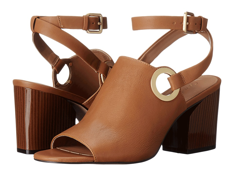 Calvin Klein - Adria (Almond Tan Leather) Women's Shoes