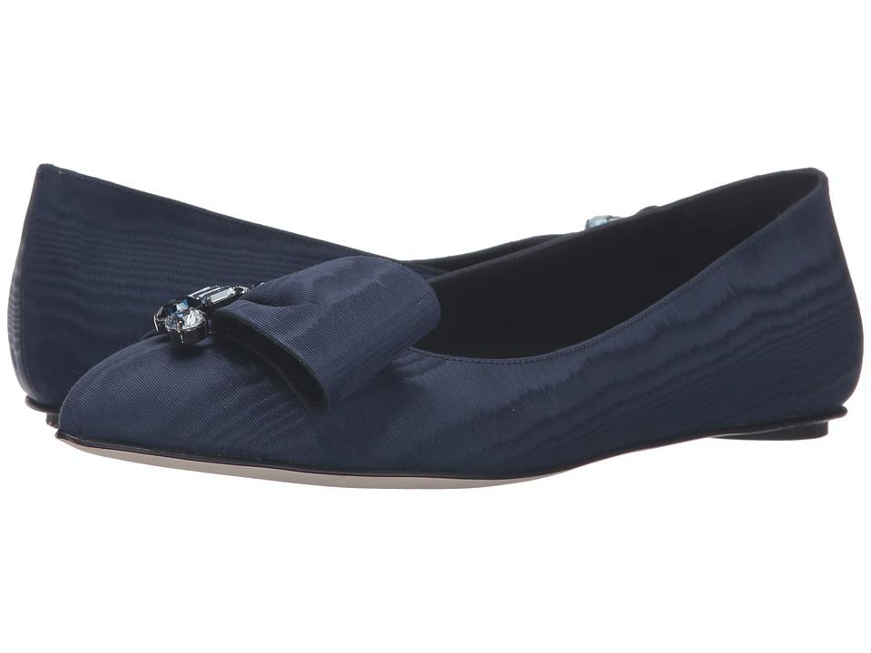 Oscar de la Renta - Nina (Midnight Moire Faille/Crystals) Women's Shoes
