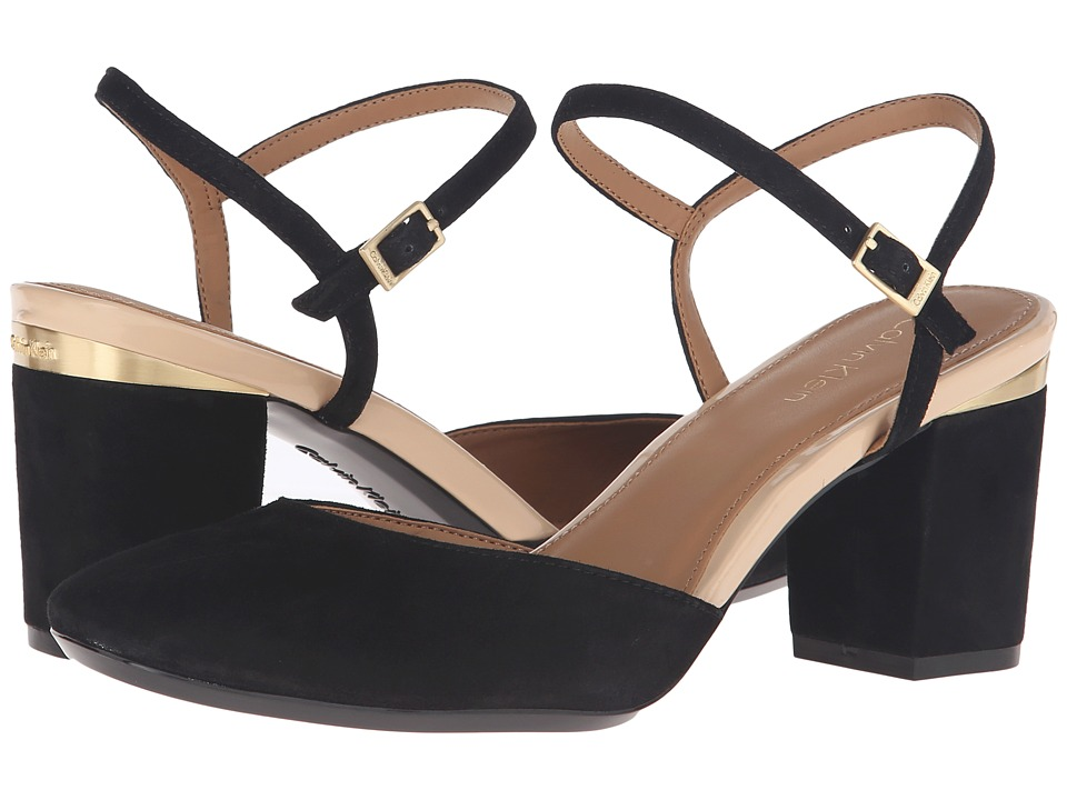 Calvin Klein Ciley (Black Suede) Women