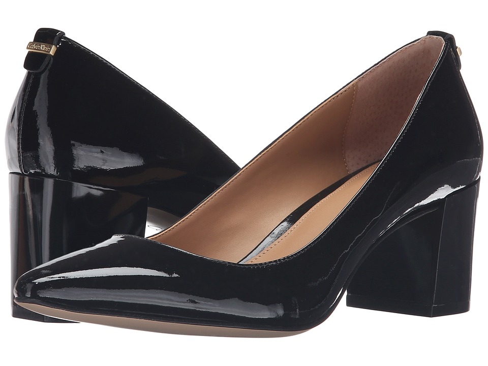 Calvin Klein - Natalynn (Black Patent) Women's Shoes
