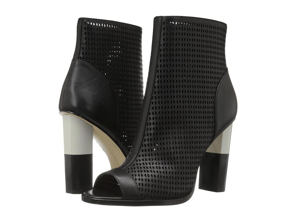 Calvin Klein - Krizia (Black Leather) Women's Shoes
