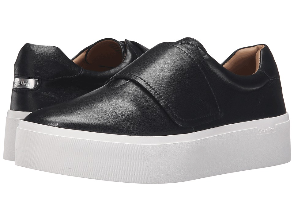 Calvin Klein - Jaiden (Black Leather) Women's Shoes