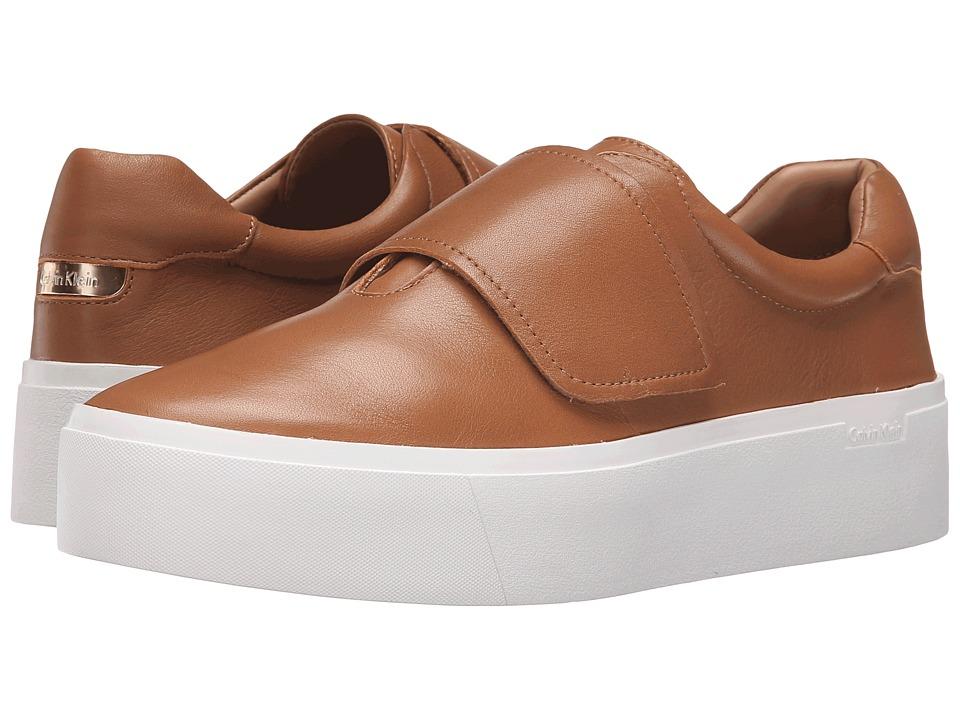 Calvin Klein - Jaiden (Almond Tan Leather) Women