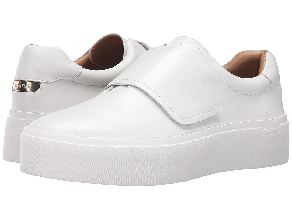 Calvin Klein Jaiden (Platinum White Leather) Women