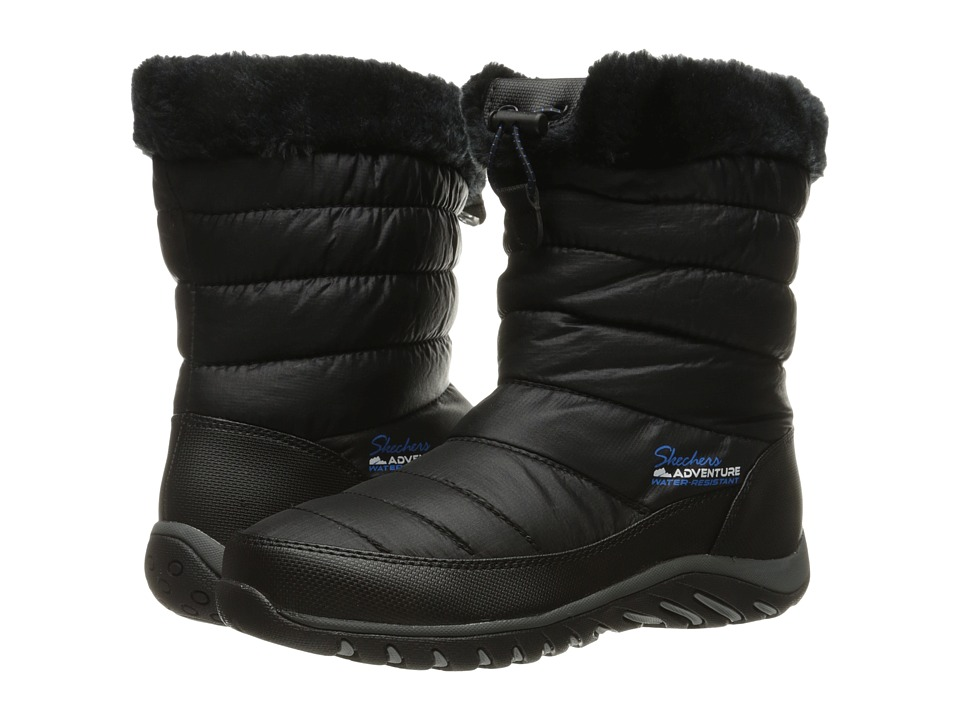 SKECHERS - Descender (Black) Women's Boots