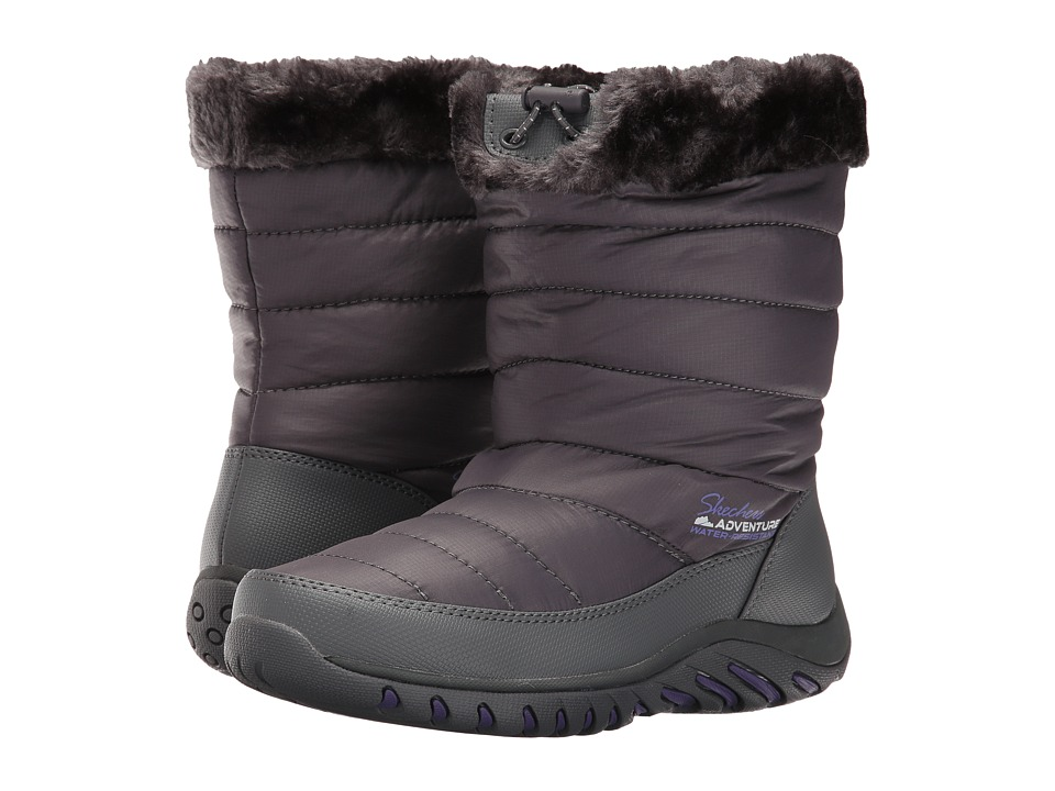 SKECHERS - Descender (Charcoal) Women's Boots