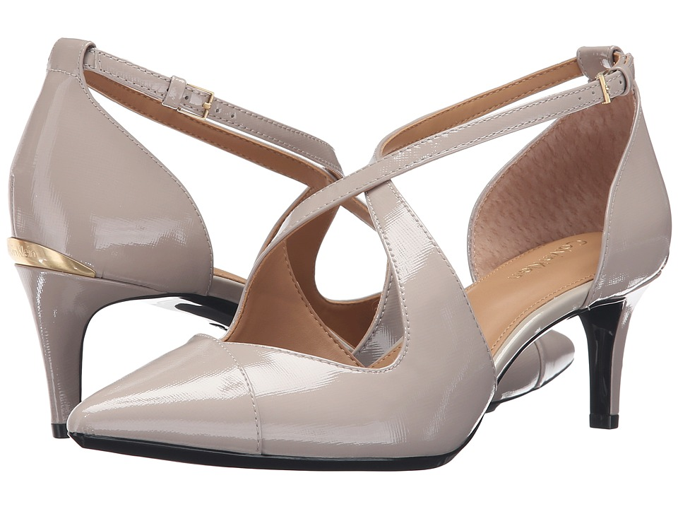 Calvin Klein - Pamette (Clay Saffiano) Women's Shoes
