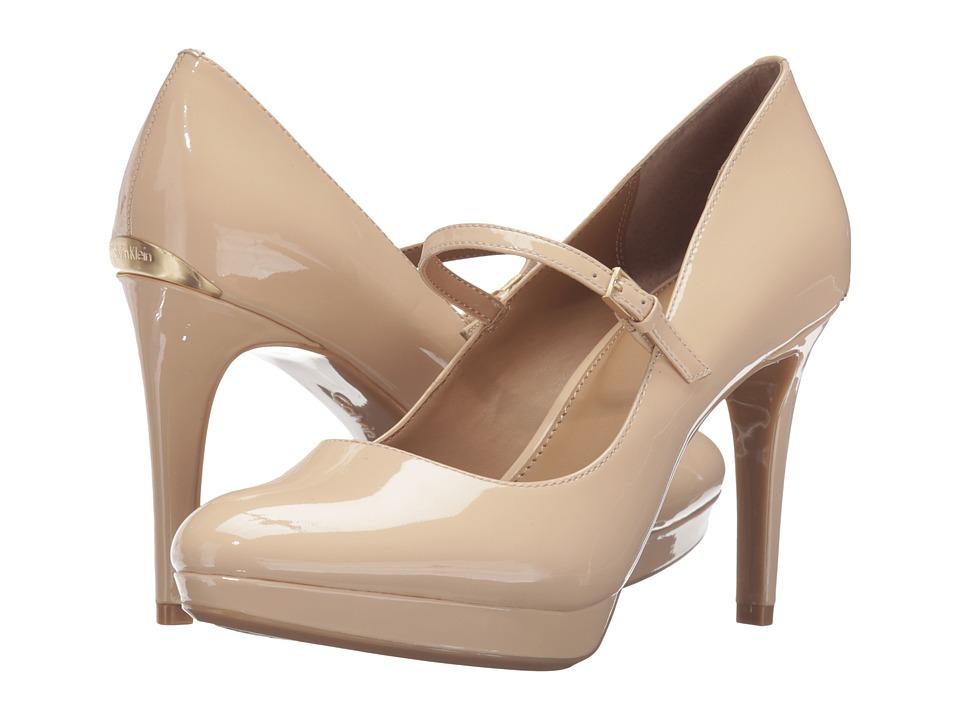 Calvin Klein - Paislie (Sandstorm Patent) Women's Shoes