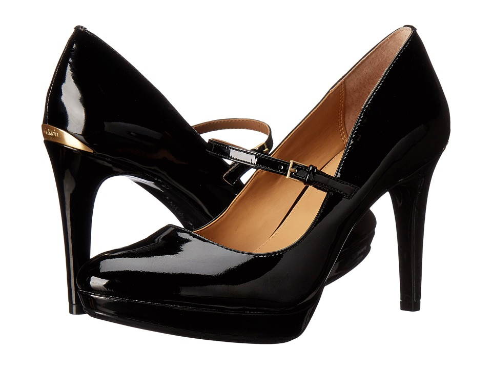 Calvin Klein - Paislie (Black Patent) Women's Shoes