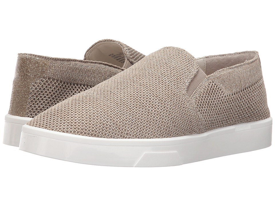 Calvin Klein - Inca (Cocoon/Gold/Ivory Fabric) Women's Shoes