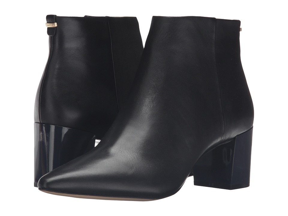 Calvin Klein Narla (Black Leather) Women