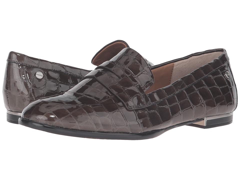 Calvin Klein - Celia (Coffee Bean Croco Print Patent) Women's Shoes