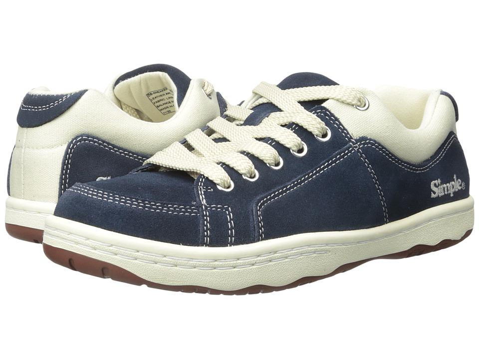 Simple OS Sneaker (Navy Blue Suede) Men