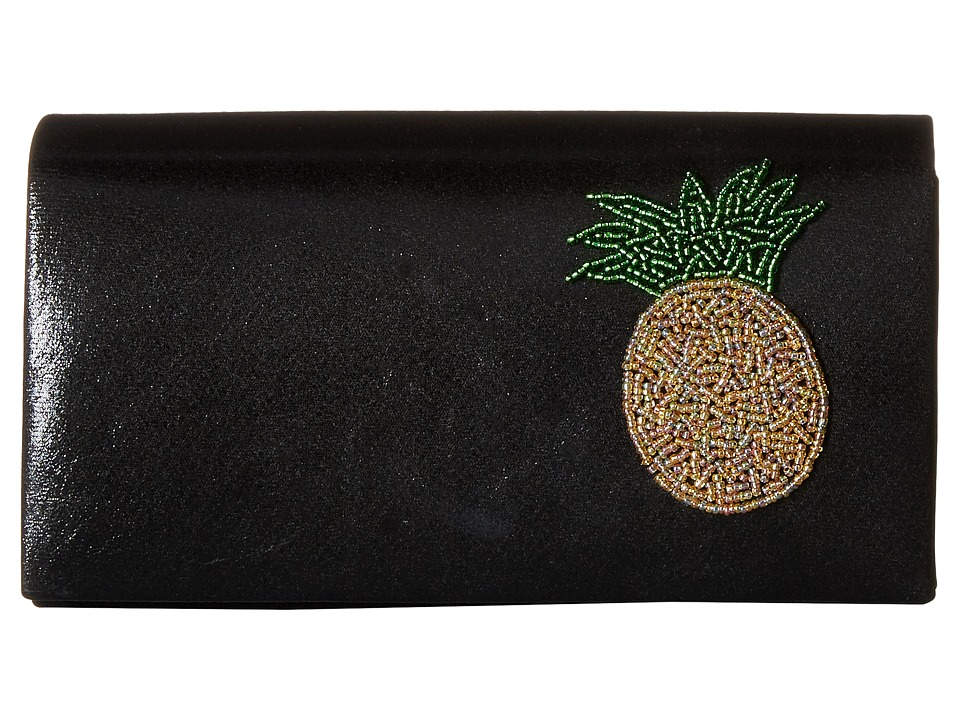 Jessica McClintock - Faith Clutch (Black) Clutch Handbags