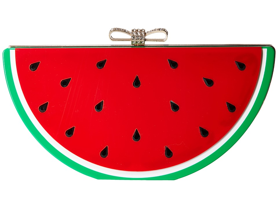 Jessica McClintock - Watermelon Clutch (Lucite) Clutch Handbags