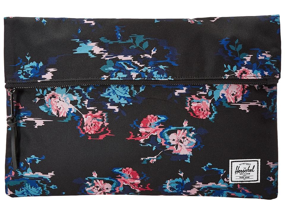 Herschel Supply Co. - Carter Large (Floral Blur) Handbags
